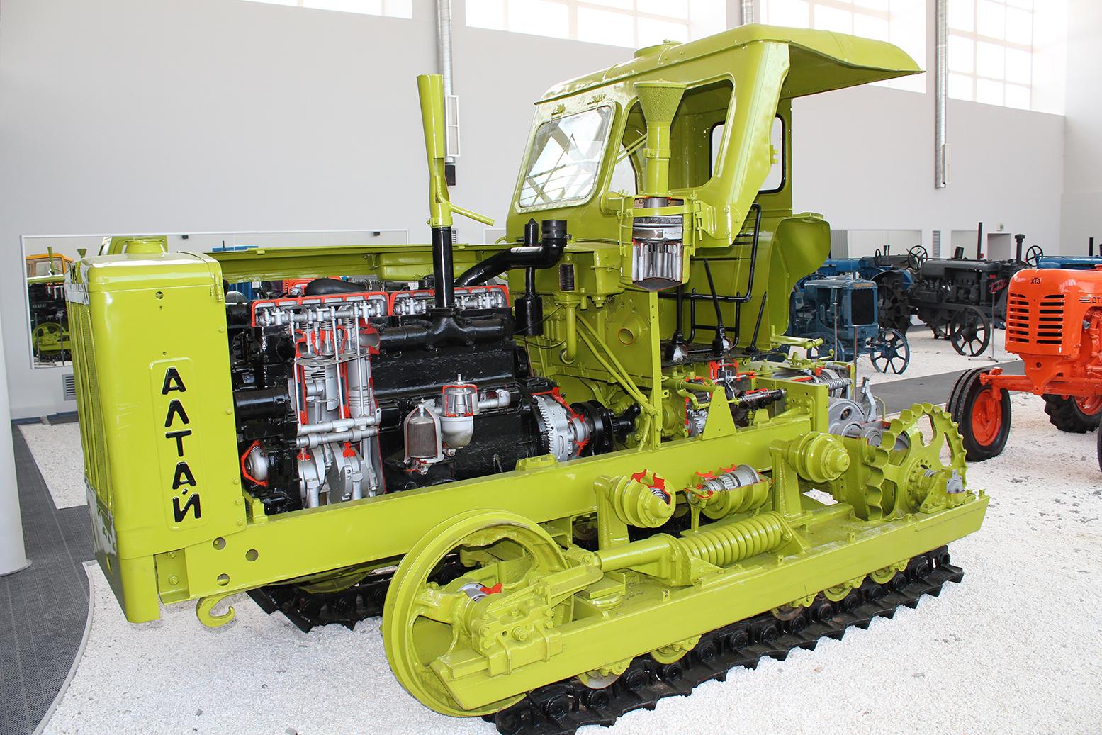 бульдозер т-170 схема